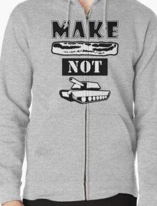 Make Bacon Not War Iconic Tshirt T-Shirt