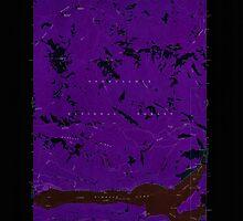 USGS Topo Map Washington State WA Rimrock Lake 243459 1967 24000 Inverted by wetdryvac