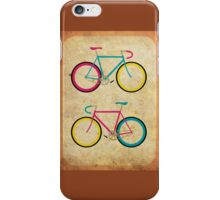 CMYK Bikes ~ Series 1 iPhone Case/Skin