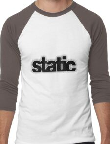 Static Men's Baseball ¾ T-Shirt