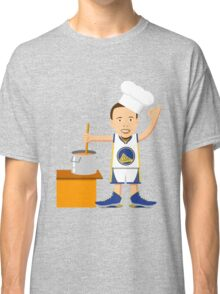 Chef Curry Widda Pot Boi! Classic T-Shirt