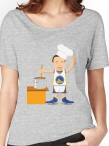 Chef Curry Widda Pot Boi! Women's Relaxed Fit T-Shirt