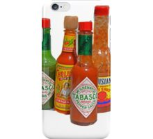 many hot sauces iPhone Case/Skin