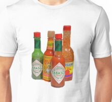 many hot sauces Unisex T-Shirt