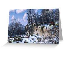 Land of the Red Fox Greeting Card