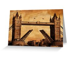 Tower Bridge Greeting Card