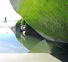 Low Tide #1 - Moss Green by deepbluwater