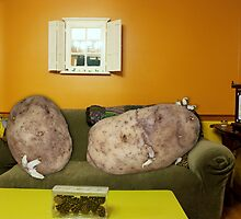 Couch Potatoes by Lisagraphy