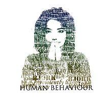 Human Behaviour Photographic Print
