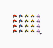 Pokeball Variety Unisex T-Shirt