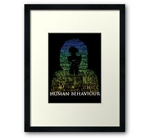 Human Behaviour(2) Framed Print