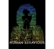 Human Behaviour(2) Photographic Print