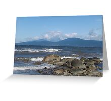 Across the Rocky Sea Greeting Card