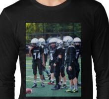 Pee Wee Black D Long Sleeve T-Shirt