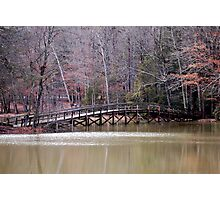 Hungry Mother Foot Bridge Photographic Print