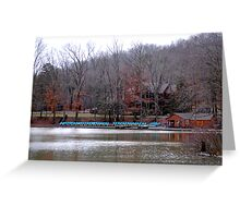 Hungry Mother Boat Ramp Greeting Card