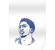 Anthony Davis Sharpie Sketch Poster