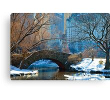 Central Park, NYC- Gapstow Bridge Canvas Print