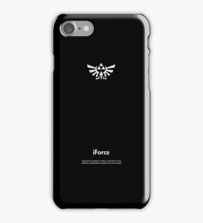 Zelda Tri-Force Logo (Apple Icon Replacement)  iPhone Case/Skin