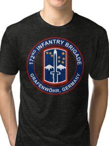 172nd Infantry Grafenwohr Tri-blend T-Shirt