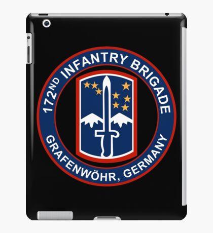 172nd Infantry Grafenwohr iPad Case/Skin