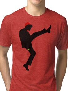 The [11th] Doctor of Silly Walks Tri-blend T-Shirt