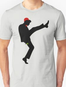 The [11th] Doctor of Silly Walks Unisex T-Shirt