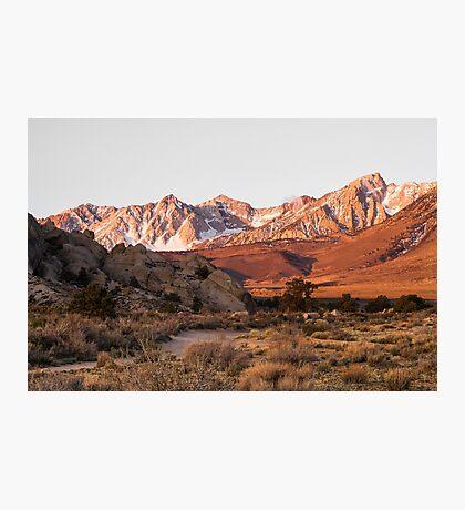 Bishop Sunrise Photographic Print
