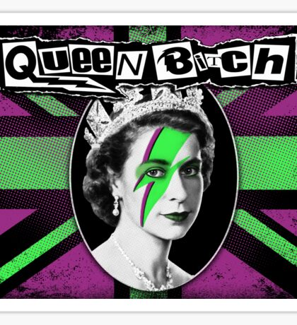 Queen Bitch Sticker