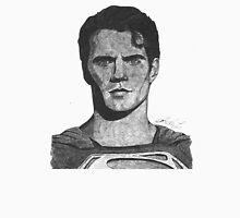 Ballpoint pen drawing of Superman Unisex T-Shirt