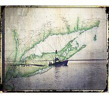 Sport Fishing Boat Photographic Print