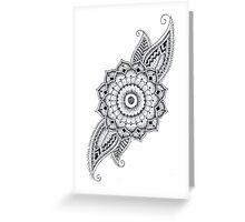 Lotus Leaves Greeting Card