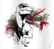 Velociraptor Mongoliensis Poster