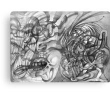 Dancing Shamen. Canvas Print