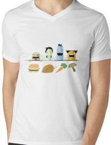 The Food Group Mens V-Neck T-Shirt