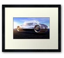Mobile Bunker Framed Print