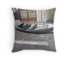 Tassie vacations ..... free water transport ....    :) Throw Pillow
