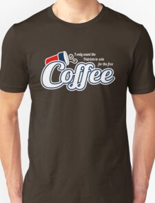 Free Dunkin Donuts Coffee if the Patriots Win T-Shirt