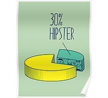 30% Hipster Poster