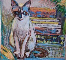 "A cat named ""Tara"" by Diane  Kramer"
