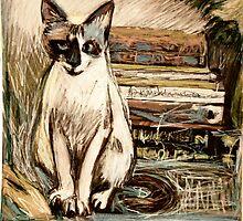 Tara the Cat by Diane  Kramer