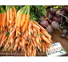 Root Vegetables Photographic Print