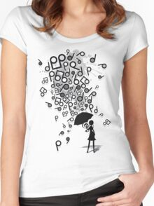 Singin' in the Rain Women's Fitted Scoop T-Shirt