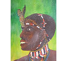 samburu warrior Photographic Print
