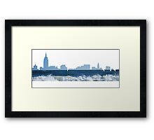 NYC water Framed Print