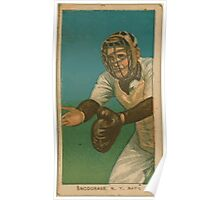 Benjamin K Edwards Collection Fred Snodgrass New York Giants baseball card portrait 001 Poster