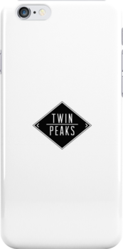 Welcome To Twin Peaks (White) by Andrew Lawandus