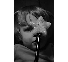 Magical toy wand magic  Photographic Print
