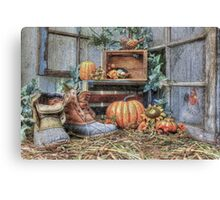 Autumn Roost Canvas Print