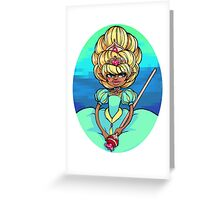 Double Princess Greeting Card
